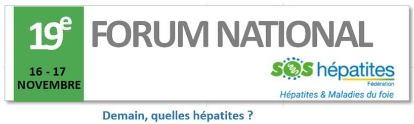 19ème Forum National SOS Hépatites – 16 et 17 novembre 2017 ...